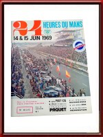 Newly arrived Le Mans Memorabilia