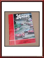 Vintage 1964 24 Hours of Le Mans Program Booklet