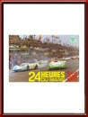 Vintage Original 1970 24 Hours of Le Mans Poster