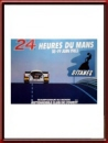 Vintage Original 1983 24 Hours of Le Mans Poster