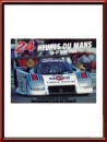 Vintage Original 1984 24 Hours of Le Mans Poster