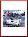 Vintage Original 1985 24 Hours of Le Mans Poster