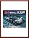Vintage Original 1986 24 Hours of Le Mans Poster