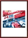 Original 2011 24 Hours of Le Mans Poster